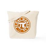Happy Pi Day 3/14 Circular De Tote Bag