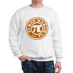 Happy Pi Day 3/14 Circular De Sweatshirt