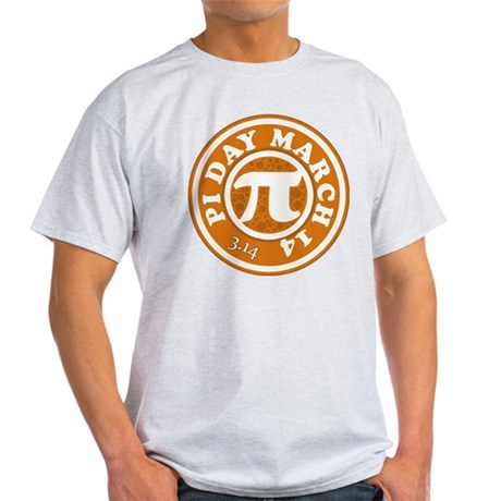 Happy Pi Day 3/14 Circular De Light T-Shirt