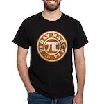 Happy Pi Day 3/14 Circular De Dark T-Shirt