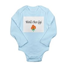 Funny Great grandma (happiness) Long Sleeve Infant Bodysuit