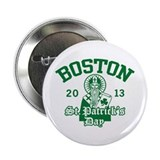 "St. Patrick's Day Boston 2013 2.25"" Button"