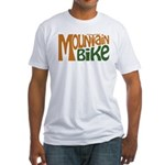 Mountain Bike Fitted T-Shirt