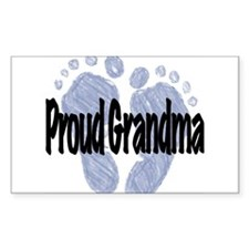 Proud Grandma (Boy) Decal
