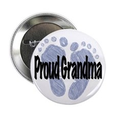 "Proud Grandma (Boy) 2.25"" Button"
