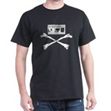 VHS/Crossbones Black T-Shirt