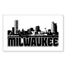 Milwaukee Skyline Decal