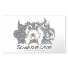Miniature Schnauzer Lover Decal