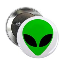 """Alien Head"" Button"
