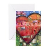 Stop and Smell the Flowers I Greeting Card