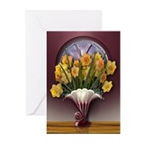 Cute Floral arrangement Greeting Cards (Pk of 10)