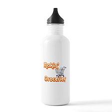 Makin Groceries Sports Water Bottle