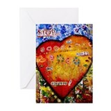 Stop and Smell the Flowers II Greeting Cards (Pk o