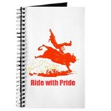 Ride with Pride Unlined Journal