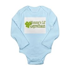 Mommy's Leprechaun Long Sleeve Infant Bodysuit