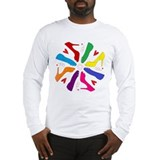 Shoe Mandala Long Sleeve T-Shirt