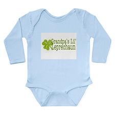 Grandpa's Leprechaun Long Sleeve Infant Bodysuit