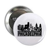 "Philadelphia Skyline 2.25"" Button"