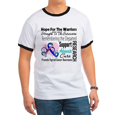 Hope Tribute Thyroid Cancer Ringer T