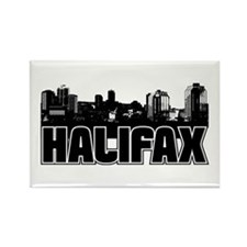 Halifax Skyline Rectangle Magnet