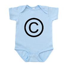 Copyright Logo Infant Bodysuit