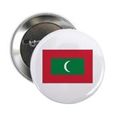 "Maldives Flag 2.25"" Button (10 pack)"
