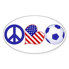 U.S.A. Soccer Fan Decal