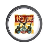 Nashville 2011 Hatch-Style Wall Clock