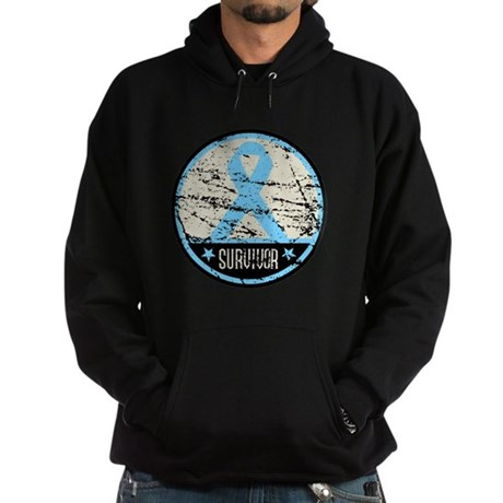 Prostate Cancer Survivor Cool Hoodie (dark)