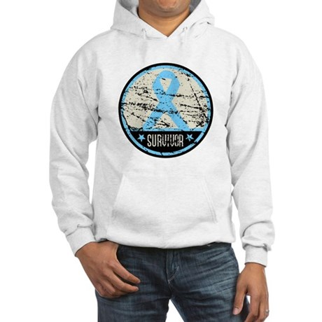 Prostate Cancer Survivor Cool Hooded Sweatshirt
