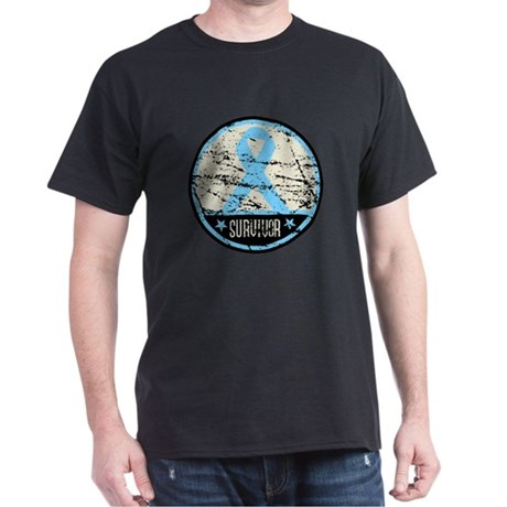 Prostate Cancer Survivor Cool Dark T-Shirt