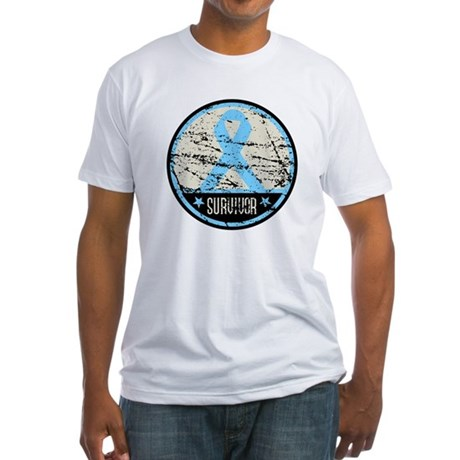 Prostate Cancer Survivor Cool Fitted T-Shirt