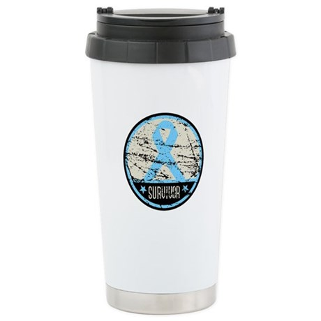 Prostate Cancer Survivor Cool Ceramic Travel Mug