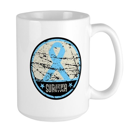 Prostate Cancer Survivor Cool Large Mug