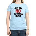No Obama in 2012 Women's Light T-Shirt