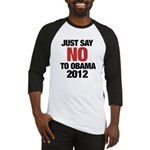 No Obama in 2012 Baseball Jersey