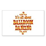 About Ballroom Dancing Decal