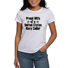 Proud Navy Wife Star Tee