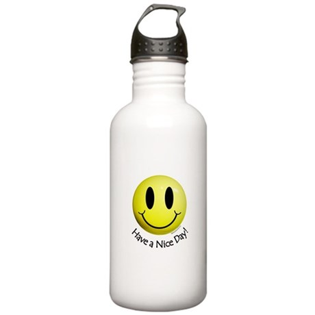 Nice Day Smiley Stainless Water Bottle 1.0L