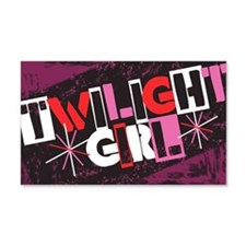 Twilight Girl 22x14 Wall Peel