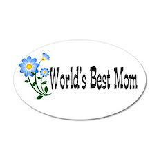 Best Mom 22x14 Oval Wall Peel