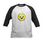 Clown Smiley Kids Baseball Jersey