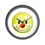 Clown Smiley Wall Clock
