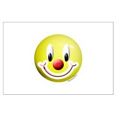 Clown Smiley Posters
