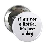 "If it's not a Rottie, it's ju 2.25"" Button (10 pac"