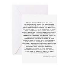 Connolly Quote Greeting Cards (Pk of 10)