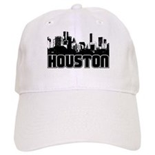 Houston Skyline Baseball Cap