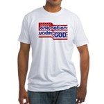 One Nation Under God Fitted T-Shirt