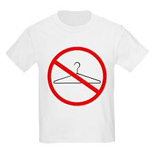 No Wire Hangers Kids T-Shirt