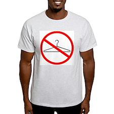 No Wire Hangers Ash Grey T-Shirt